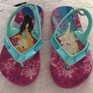 Disney Frozen sandals sz 7/8   $5 Never Worn